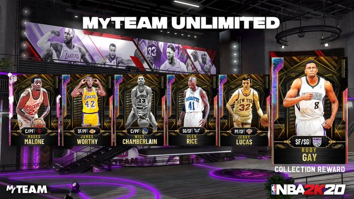 MyTEAM Unlimited Rewards