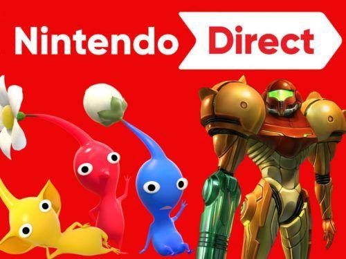 Nintendo Direct March pikmin & Samus