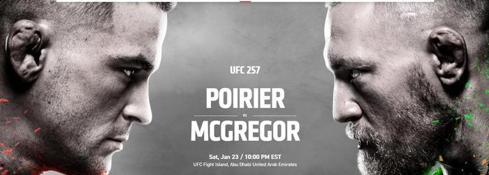 UFC 257 Results McGregor Poirier UFC 4 Simulation