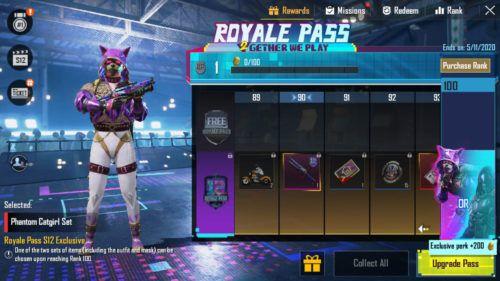 PUBG Mobile Season 12 Royale Pass skin 2