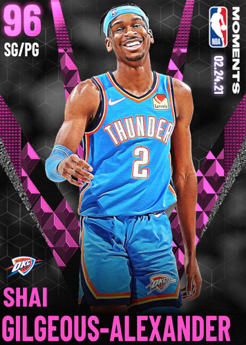 NBA 2K21 MyTEAM PD Shai Gilgeous-Alexander