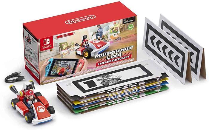 Mario Kart live box items
