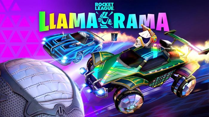 Fortnite X Rocket League Llama-Rama key art