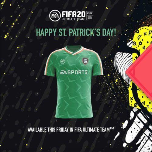 FIFA 20 Leaked St Patricks Day Kit