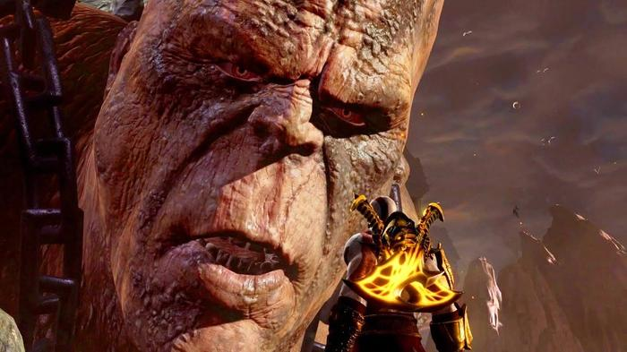 God of War 3 Remastered: Cronos Boss Fight PS4 (1080p 60fps) - YouTube
