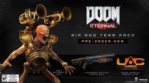 The pre-order bundle for Doom Eternal