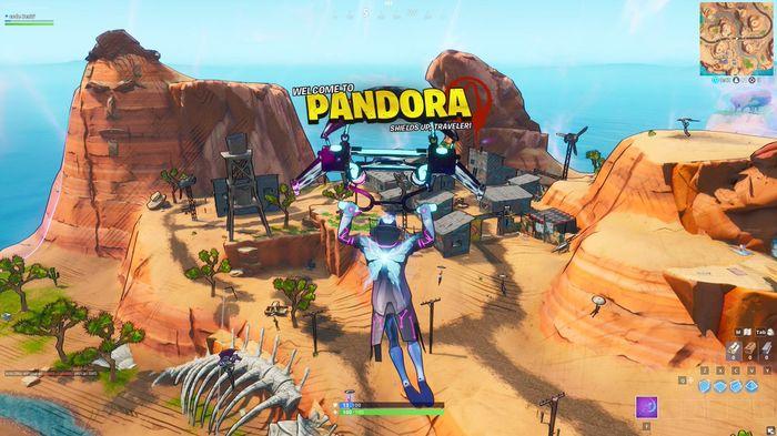 Fortnite Chapter 2 Season 6 Map Changes Pandora