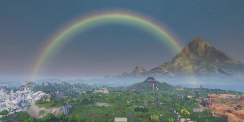 fortnite rainbow st patricks day