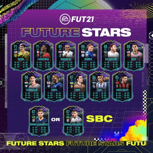 fifa 21 ultimate team future stars team 1