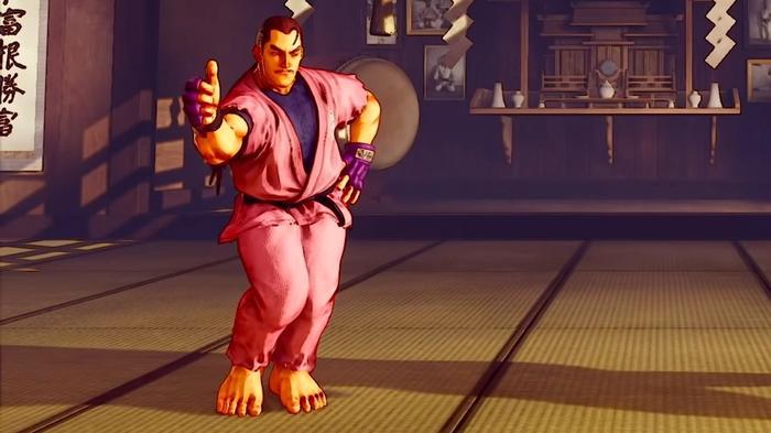 Street Fighter V Dan Preview