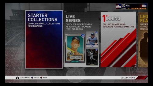 MLB The Show 20 Diamond Dynasty challenge sets