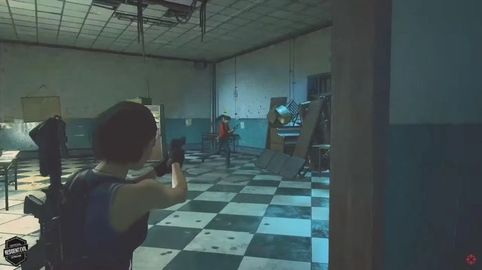 Resident Evil Re Verse Gameplay Jill Shooting Claire