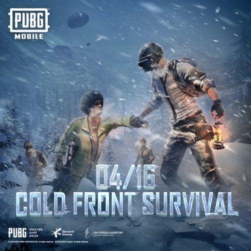 pubg mobile cold front survival teaser