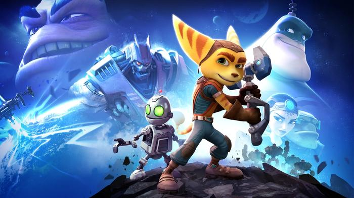 Ratchet and Clank PS4 Key Art