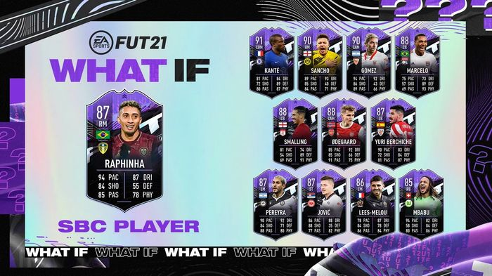 FIFA 21 Ultimate Team What If Raphinha SBC