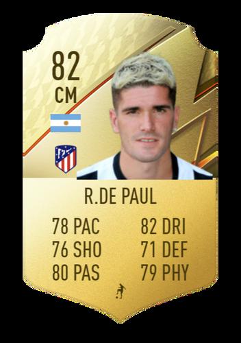 FIFA 22 Rodrigo de Paul