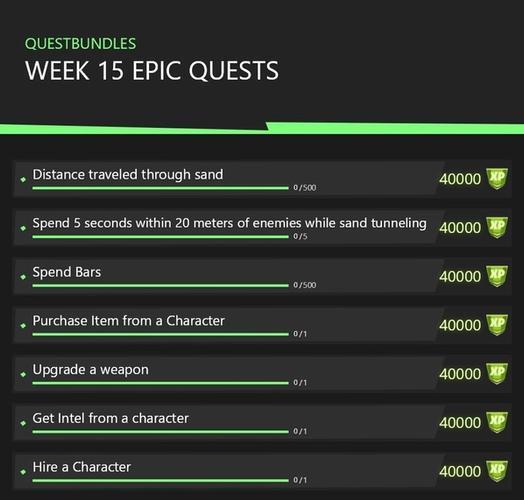 Fortnite Season 5 Week 15 Challenges