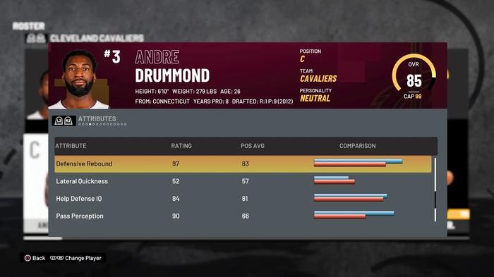 Drummond Rebounding