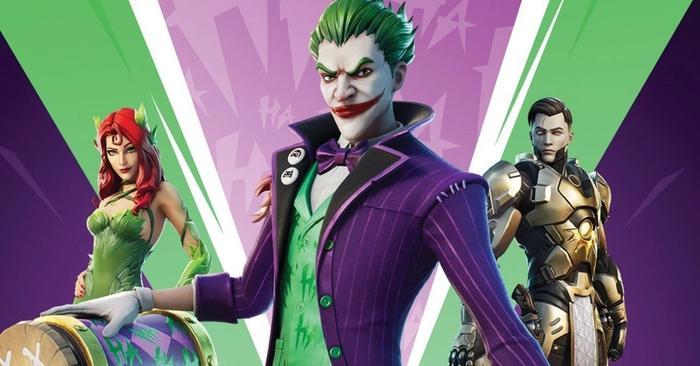 fortnite joker poison ivy dc bundle midas returning 1