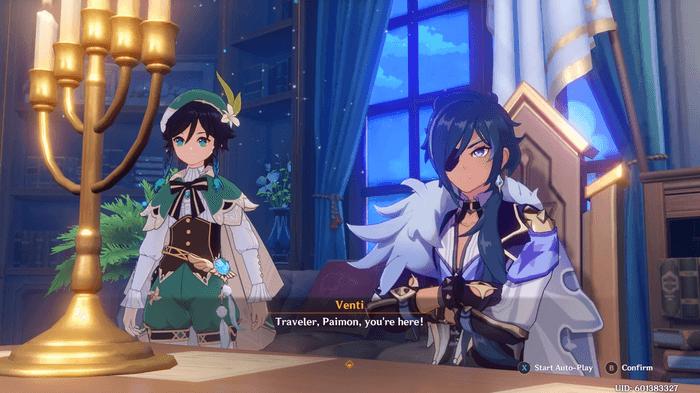 Kaeya and Venti