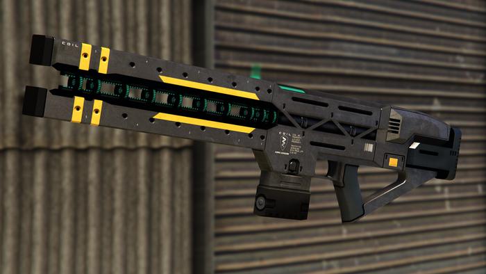 GTA Online Best Weapons Railgun