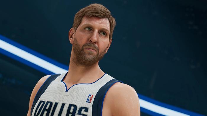 NBA 2K22 current gen dirk nowitzki