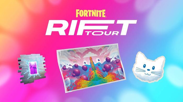 Fortnite Season 7 The Rift Tour Quest Items