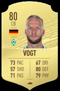 Vogt fut base card