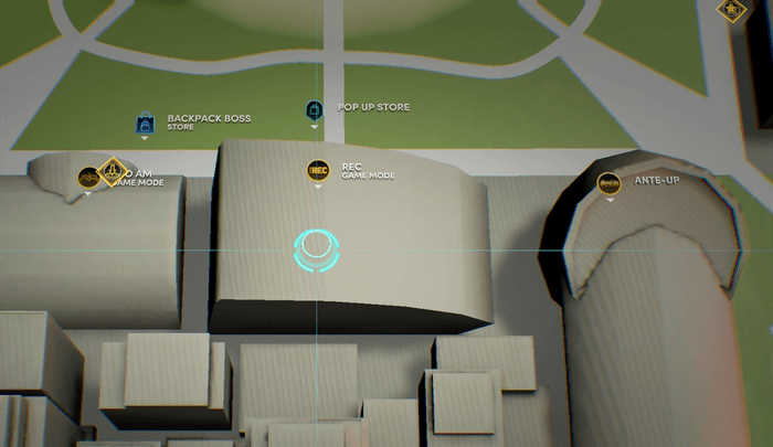 NBA 2K22 The City Map Locations The game mode location