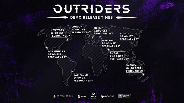 New Outriders Demo Release Roll-Out