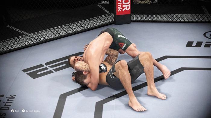 Conor McGregor UFC 257 Dustin Poirier UFC 4
