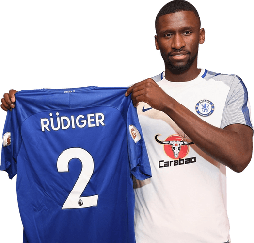 FIFA 21 FUT 21 Antonio Rudiger Image Render