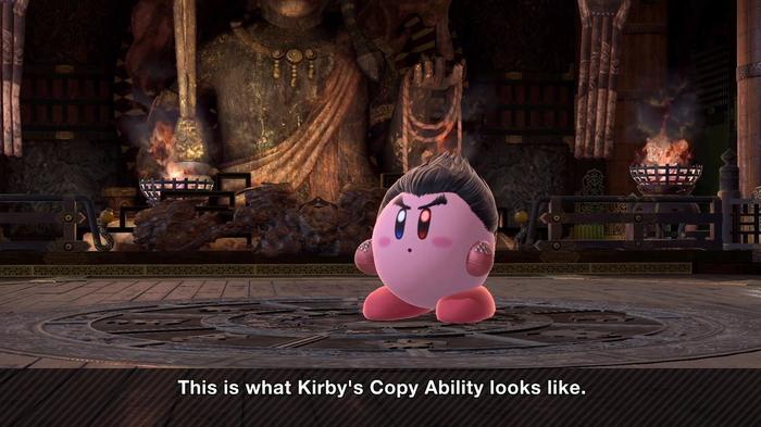 Kirby super smash brothers skin