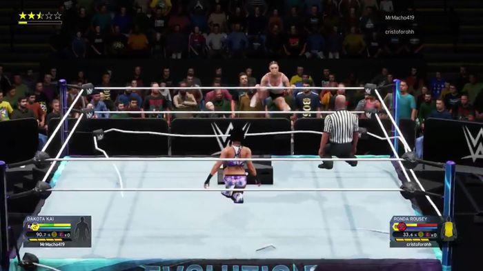 WWE 2K22 Next Gen 2K20 Glitches