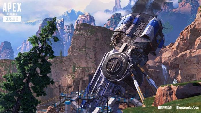 Apex Legends Season 8 Crash Site Kings Canyon