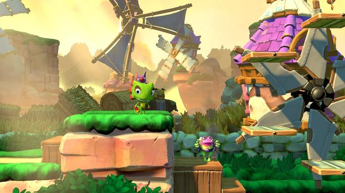 Yooka Laylee and the Impossible Lair Key Art Nintendo Switch