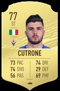 Cutrone fut base card