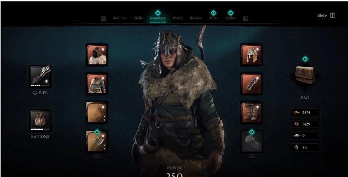 Assassins Creed Valhalla Huntsman Armor Set