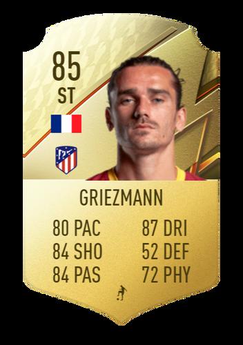 FIFA 22 Antoine Griezmann