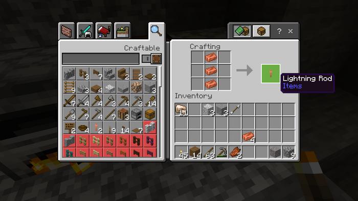 Minecraft Lightning Rod