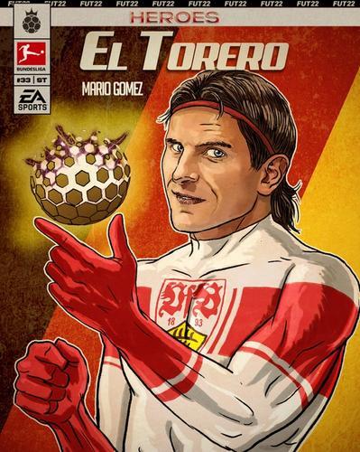 FIFA 22 FUT Heroes Mario Gomez