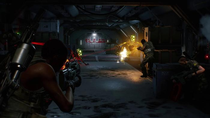 Aliens Fireteam Key Art Steam 5
