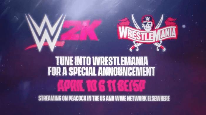 WWE 2K22 Confirmed Announcement Reveal Trailer WrestleMania 37