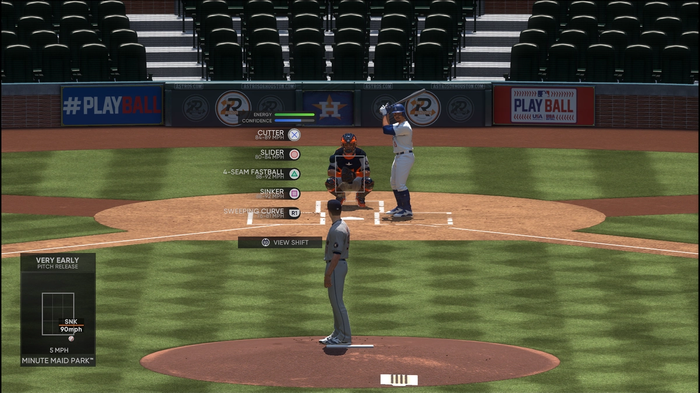 MLB The Show 21 Pitching Guide Controls Starter Tips Beginners