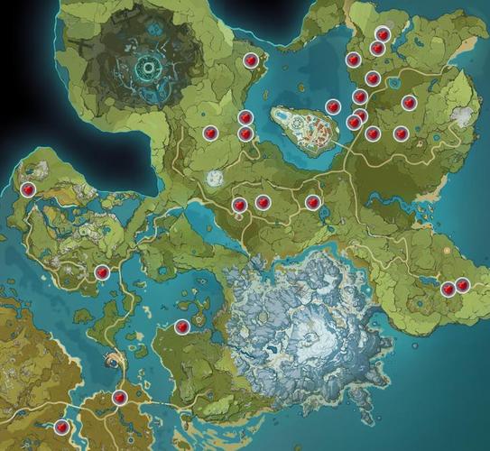 Genshin Impact Apple locations