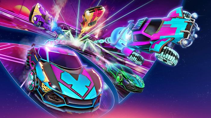 Rocket League v1.93 Patch Season 2 Key Art