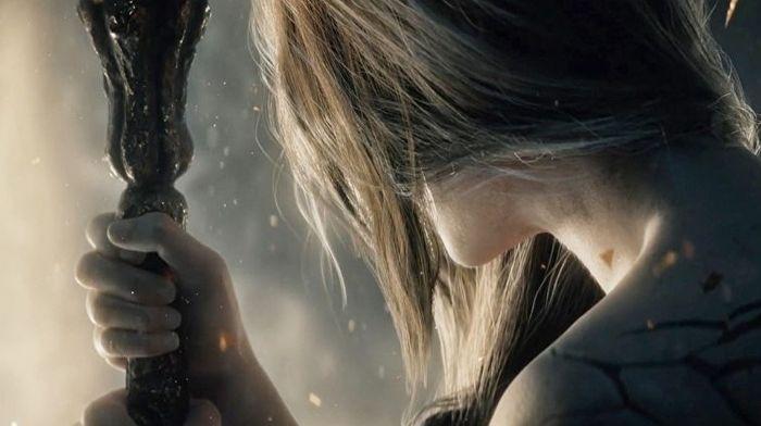 Elden Ring Gameplay Trailer Woman Grey Hair Staff