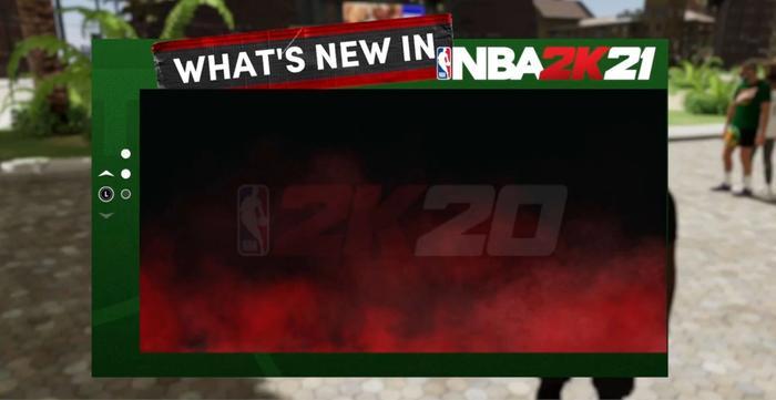 NBA 2K21 next gen NBA 2K20 banner error