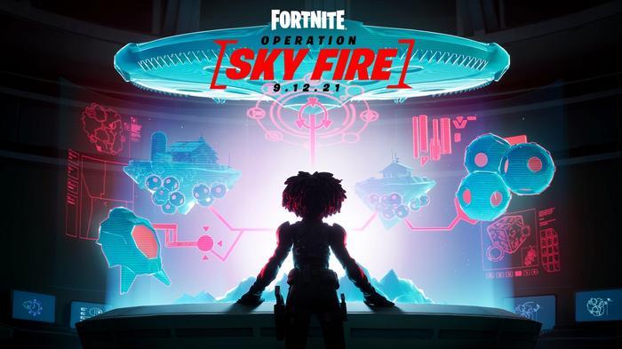 Operation Sky Fire Fortnite Season 8