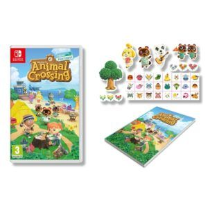 An Animal Crossing stickerbook comes with this pre-order deal